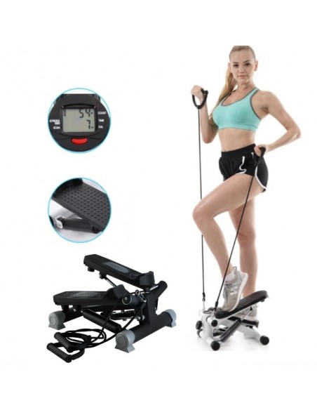 STEPPER COM CORDAS FITNESS E DESPORTO